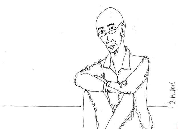 Dibujo Myanmar - Hombre