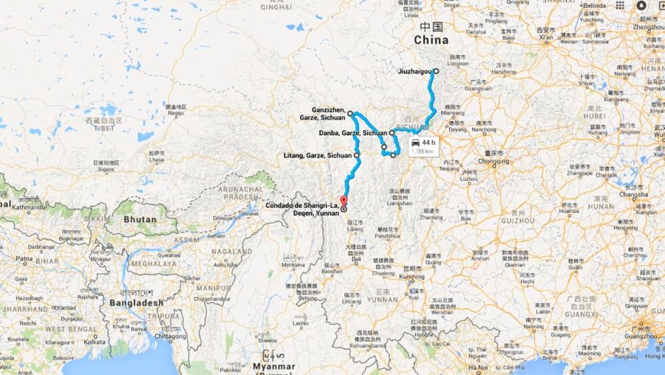 ruta tibet